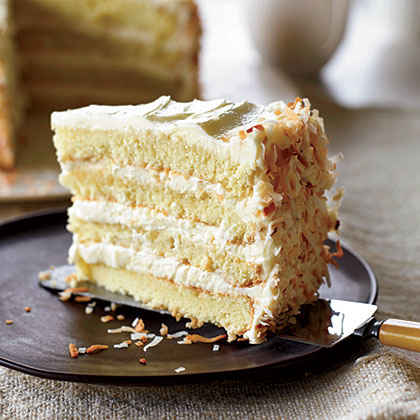 Towering Coconut Layer Cake