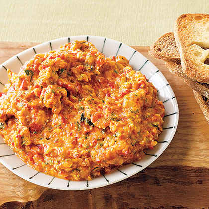 Roasted Red Pepper and Zucchini Spread