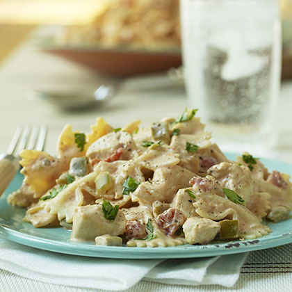 Mexican Bow-tie Pasta with Chicken