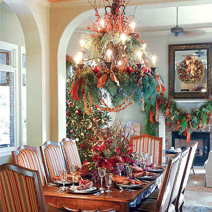 Striking Dining Room Decor