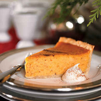 Cardamom-Scented Sweet Potato Pie