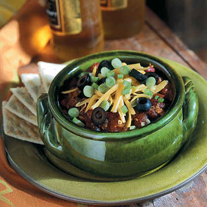 """""""Meaty"""" Meatless Double-Bean Chili"""