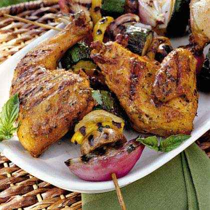 Marinated Chicken Quarters