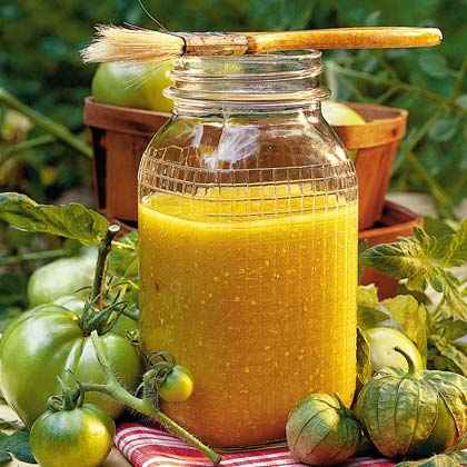 Tomatillo Barbecue Sauce