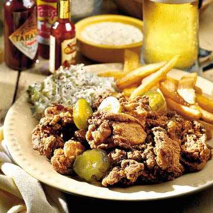 Southwest Fried Oysters