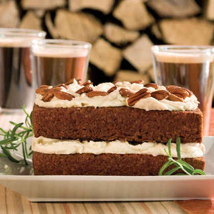Gingerbread Cake With Stout Buttercream
