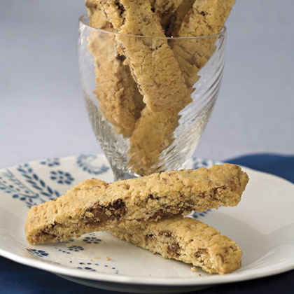 Hazelnut-Chocolate Biscotti