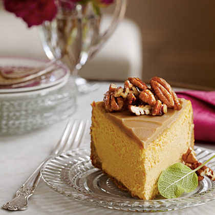 Pumpkin-Pecan Cheesecake