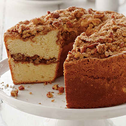 Coffee Cake Pound Cake