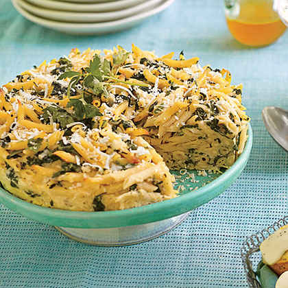 Spinach-and-Herb Pastatta