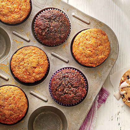 Carrot-Poppy Seed Muffins