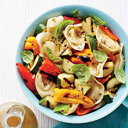 Tortelloni-and-Grilled Vegetable Salad