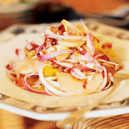 Belgian Endive Salad with Stilton and Apples