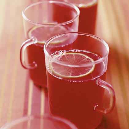 Hot Cranberry-Ginger Punch