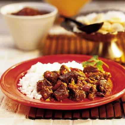 South African Beef Curry