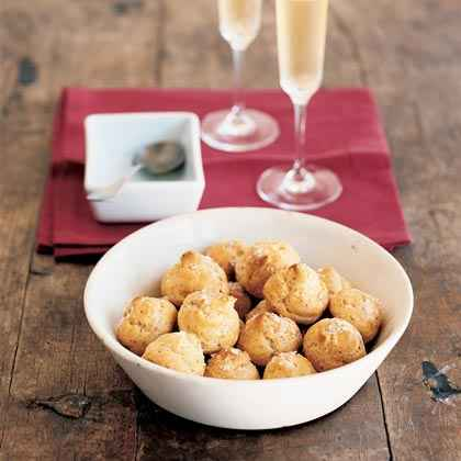 Salt-and-Pepper Cheese Puffs