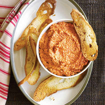 Walnut Red Pepper Dip