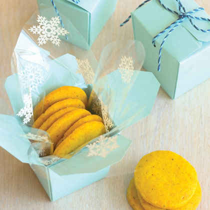 Savory Spiced Shortbreads