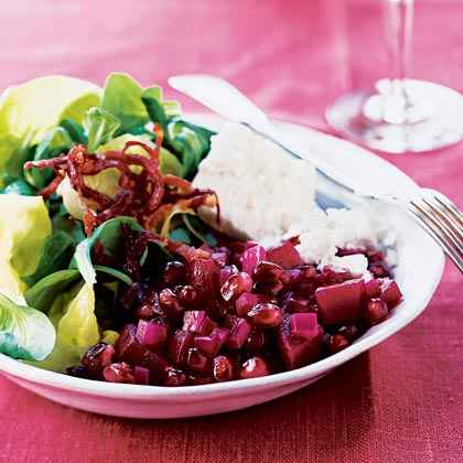 Pomegranate and Beet Salad