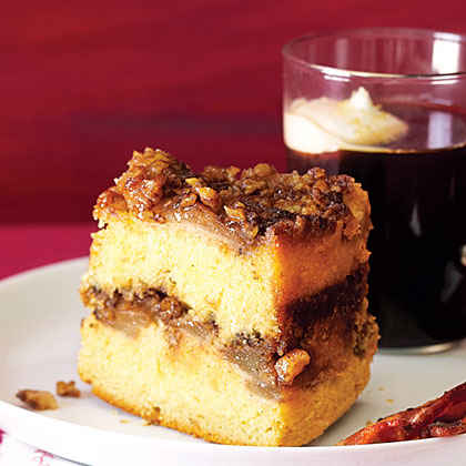 Upside-Down Sour Cream Coffee Cake