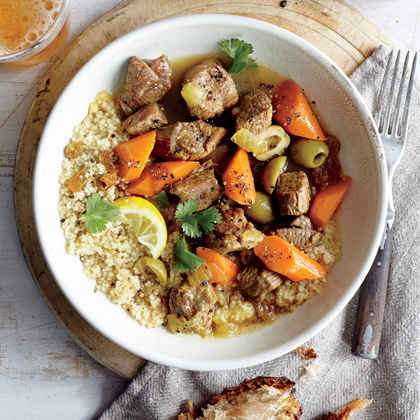 Lamb Tagine with Lemon and Olives