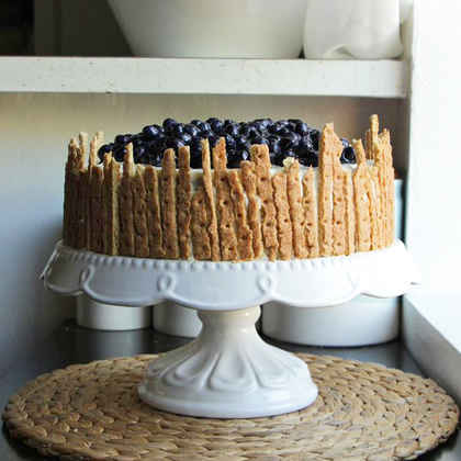 Easy Lemon-Blueberry Cake from a Box
