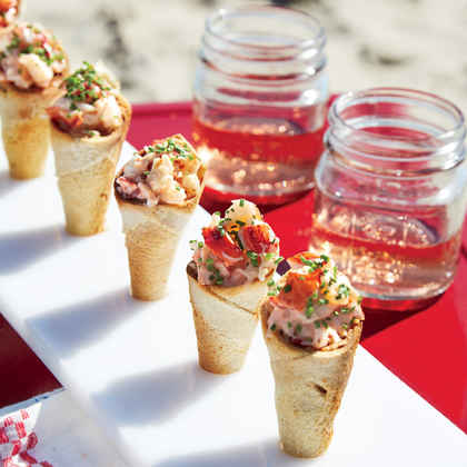 Lobster Roll Cones