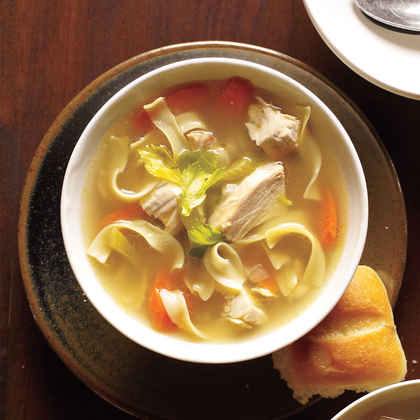 how to make chicken soup richer