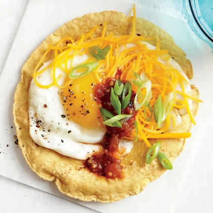 Smoky Egg and Cheese Tostada