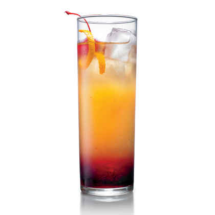 Cherry-Orange Tequila Cocktail