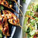 Grilled Chicken Skewers with Asian Pear Slaw Recipe