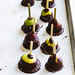 Chocolate and Sea Salt Fig Lollipops