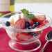 Strawberry-Blueberry Compote in Red Wine Syrup