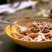 Bucatini with Eggplant and Roasted Peppers Recipe