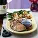 Pan-Grilled Pork Tenderloin with Pomegranate Molasses Recipe