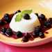 Sour Cream Panna Cotta with Blackberry-Zinfandel Compote Recipe