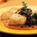 Roasted Halibut with Romesco Sauce and Olive Relish Recipe