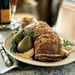 Leg of Lamb with Roasted Pear and Pine Nut Relish Recipe