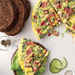Open-Faced Pastrami Omelet on Pumpernickel Recipe
