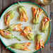 Pimiento Cheese-Stuffed Squash Blossoms Recipe