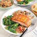 Seared Salmon Fillets with Orzo Pilaf Recipe