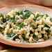 Cavatappi with Spinach, Beans, and Asiago Cheese Recipe