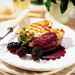 Grilled Salmon with Blackberry-Cabernet Coulis Recipe