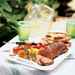 Spiced Lamb Loin with Grilled Ratatouille Recipe