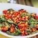 Grilled Green Tomatoes with Red and Yellow Tomato-Basil Salsa Recipe