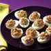 Deviled Eggs with Smoked Salmon and Two Mustards Recipe
