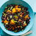 Black Rice Salad with Butternut Squash and Pomegranate Seeds Recipe