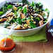 Grilled Chicken, Corn, and Spinach Salad with Smoky Paprika Dressing