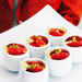 Honey Custards with Blood Oranges and Candied Lemon Recipe