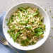 Orzo with Sesame and Peas